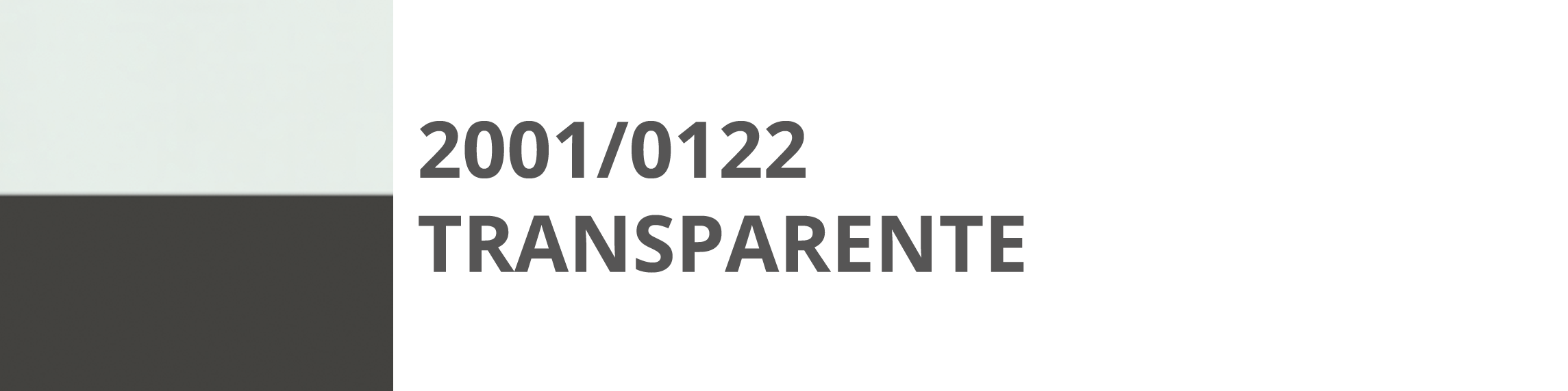 2001 122 Trasparente