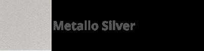 140 Metallo Silver