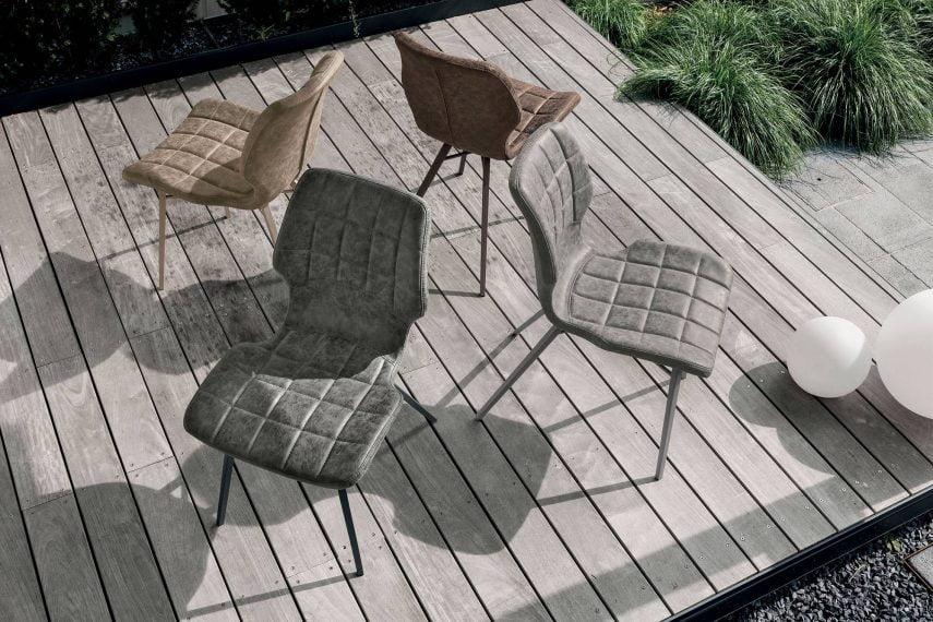 Scaun de sufragerie SANTIAGO WOOD