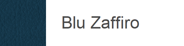 Ecopiele Blu zaffiro