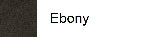 Velur Ebony