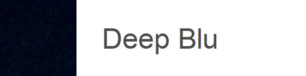 Velur Deep blu