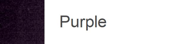 Velur Purple